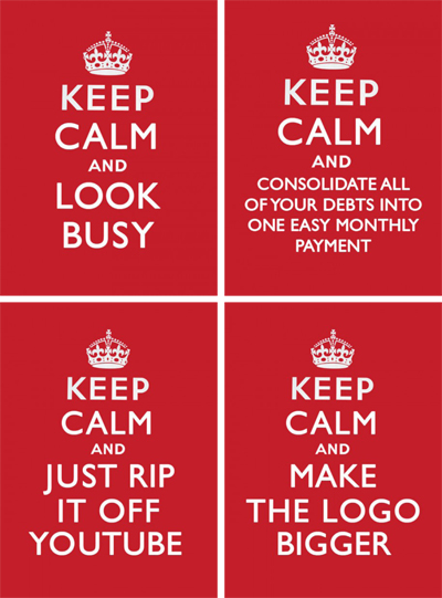 Keep calm Love Creative